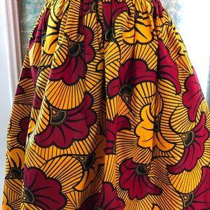 Dresses & Skirts - ⭐️ Host Pick 🆕 Ankara design clutch and skirt